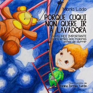 PORQUE CUQUI NON QUERE IR Á LAVADORA. Conto MOI IMPORTANTE para lerlles aos maiores antes de durmir